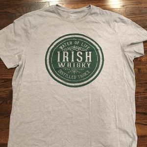 Banana Republic Irish whisky T-shirt XL